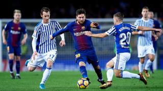 Liga : Barça-Real Sociedad (4-2)