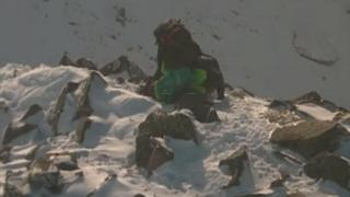 Walking party on the ridge