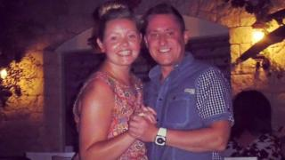 Stephen and Sian Vaughan