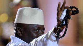 L'ancien président Gambien, Yahya Jammeh, parti en exil en Guinée équatoriale (archives)