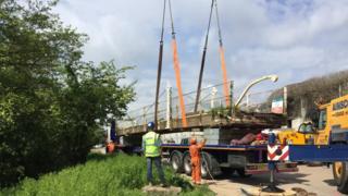 Lydney swing bridge
