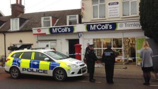 McColl's ram-raid, Trimley St Martin