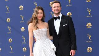 Jessica Biel with Justin Timberlake