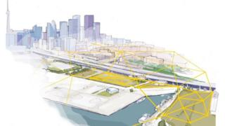 """Diseño de dónde se ubicará el barrio """"inteligente""""."""