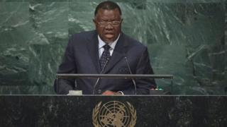 """Windhoek a attribuée cette décision à un problème de """"communication"""" avec les autorités de Bruxelles."""