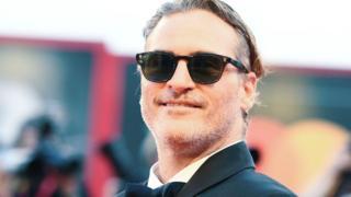 Joaquin Phoenix at the Joker premiere