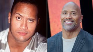 Dwayne Johnson aka The Rock has changed quire a lot in 10 years.