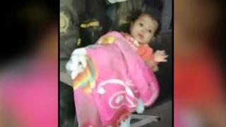 Bebé rescatada en Guatemala