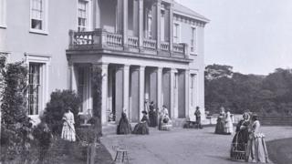 Dillwyn family home at Penllergaer