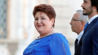 Italy Agriculture Minister Teresa Bellanova, 5 Sep 19