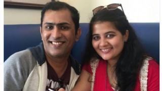 Gaurav Golwalkar and wife Era