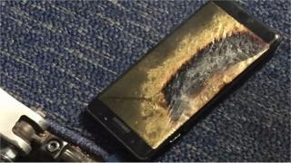 Celular queimado em voo da Southwest
