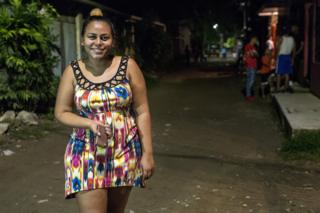 Keilin already left on one caravan but turned back when she was told she had little chance of getting asylum in the US