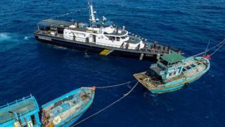 tàu cá, indonesia, vietnam, thuyền trưởng Việt Nam
