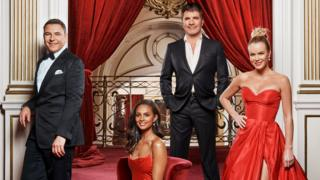 Britain's Got Talent judges (left-right) David Walliams, Alesha Dixon, Simon Cowell and Amanda Holden