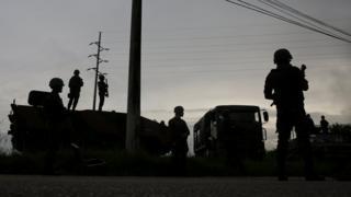 Militares participam de operação em São Gonçalo, região metropolitana do Rio