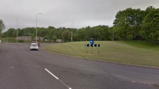 Priorslee roundabout off Holyhead Road, Telford