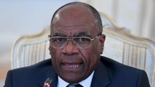 Léonard She Okitundu, le vice-Premier ministre chargé des Affaires étrangères en RDC