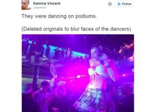 Xbox go-go dancers