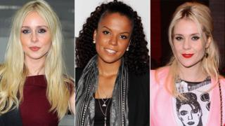 Diana Vickers, Ms Dynamite and Kate Nash