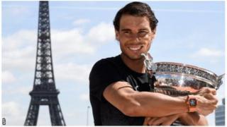 Nadal yatsinze irushanwa rya French Open inshuro 10 mu myaka 13