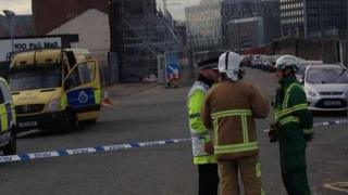Pall Mall security cordon