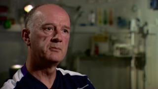 Dr James Robson, Scottish Rugby Union's chief medical officer