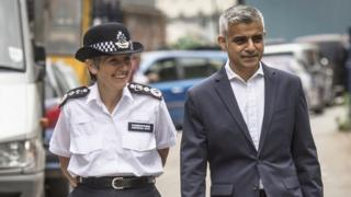 Cressida Dick and Sadiq Khan
