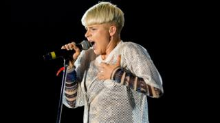 Robyn performs on the main stage on day 4 of Bestival at Robin Hill Country Park on September 11, 2011 in Newport, United Kingdom