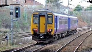 Northern Rail train