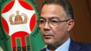 Fouzi Lekjaa President of Morocco Royal Football Federation