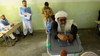 انتخابات پارلمانی افغانستان