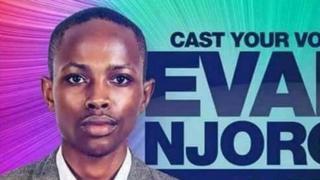 Bango la kampeni la Evans Njoroge