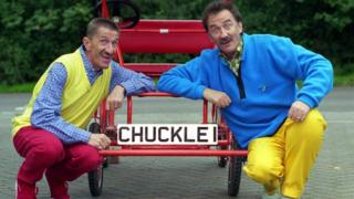 Barry (left) and his brother Paul starred in ChuckleVision