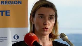 AB Dış İlişkiler sorumlusu Federica Mogherini