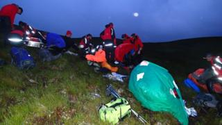 Dundonnell MRT on a shout on Sunday