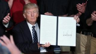 Трамп со своим указом