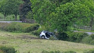 A man is in a critical condition in hospital after a crash near Dungannon