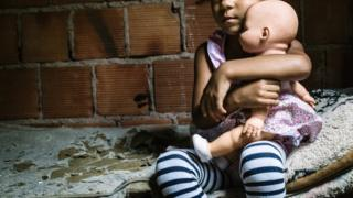 Criança em situação de pobreza