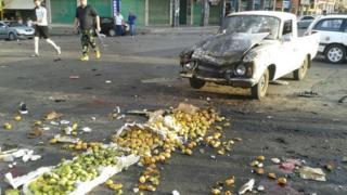 هناك عدد كبير من المصابين نتيجة الهجمات في السويدة وما حولها