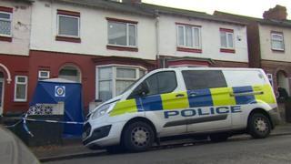 Police scene