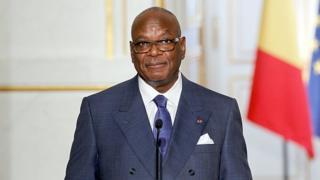 Le président malien Ibrahim Boubacar Keïta prête serment aujourd'hui devant la cour suprême pour un second mandat de cinq ans