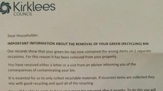 Council letter to residents