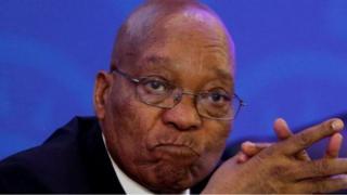 Aarẹ orilẹ-ede naa, Jacob Zuma