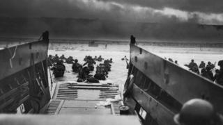 US troops at D-Day