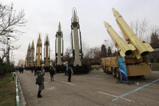 نمایشگاه تسلیحات نظامی در تهران پایتخت ایران به مناسبت چهلمین سالگرد انقلاب ایران، 13 بهمن 1397