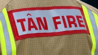 Fire crew member