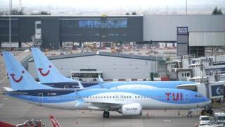 Tui Boeing 737 Max planes