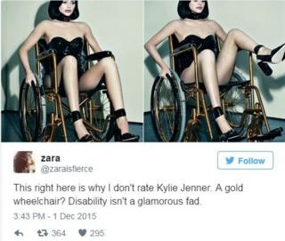 Tweet - this right here is why I don't like Kylie Jenner