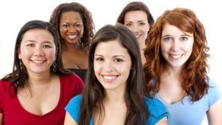Un grupo de mujeres